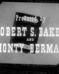Main title from Passport to Treason (1956) (10).  Produced by Robert S Baker and Monty Berman