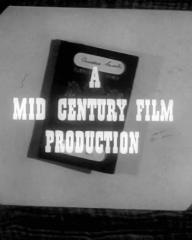 Main title from Passport to Treason (1956) (12).  A Mid Century Film Production