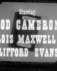Main title from Passport to Treason (1956) (3).  Starring Rod Cameron Louis Maxwell, Clifford Evans