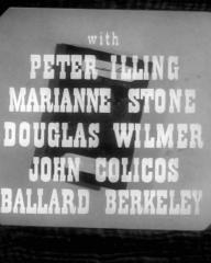 Main title from Passport to Treason (1956) (4).  With Peter Illing Marianne Stone, Douglas Wilmer, John Colicos, Ballard Berkeley