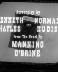 Main title from Passport to Treason (1956) (6).  Screenplay by Kenneth Hayles and Norman Hudis.  From the novel by Manning O'Brine