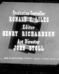 Main title from Passport to Treason (1956) (8)