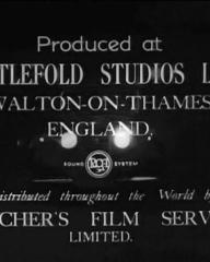 Main title from Paul Temple's Triumph (1950) (10).  Produced at Nettlefold Studios Ltd Walton-on-Thames, England.  RCA sound system.  Distributed throughout the world by Butcher's Film Service Limited