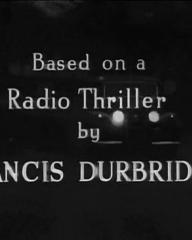 Main title from Paul Temple's Triumph (1950) (4).  Based on a radio thriller by Francis Durbridge