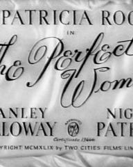 Main title from The Perfect Woman (1949)