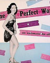 Patricia Roc (as Penelope Belman) in a poster for The Perfect Woman (1949) (2)