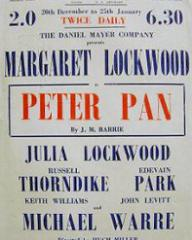 Poster for  Peter Pan at the Scala Theatre, London (1)