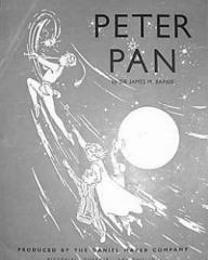 Souvenir brochure from Peter Pan at the Scala Theatre, London