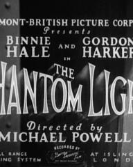 Main title from The Phantom Light (1935)