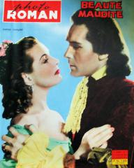 Photo Roman magazine with Patricia Roc and  Griffith Jones in The Wicked Lady.  (French)