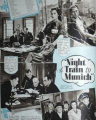 Picture Show magazine featuring Night Train to Munich.  31st August, 1940.