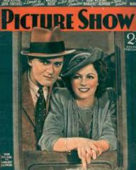Picture Show magazine with Hugh Williams and  Margaret Lockwood in Bank Holiday.  4th June, 1938.