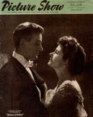 Picture Show magazine with Paul Dupuis and  Margaret Lockwood in Madness of the Heart.  3rd September, 1949.