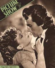 Picture Show magazine with Phyllis Calvert and  Stewart Granger in The Magic Bow.  November, 1946.