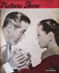 Picture Show magazine with Ray Milland and  Patricia Roc in Circle of Danger.  May, 1951.