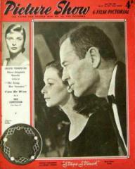 Picture Show magazine with Susan Strasberg and  Henry Fonda in Stage Struck.  14th June, 1958.