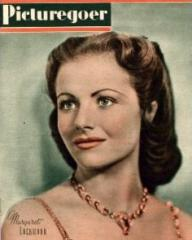 Picturegoer magazine with Margaret Lockwood in Alibi.  June, 1942.