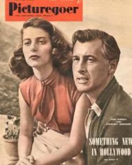 Picturegoer magazine with Pier Angeli and  Stewart Granger in The Light Touch.  January, 1952.