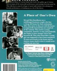 Australian DVD cover of A Place of One's Own (1945) (2)