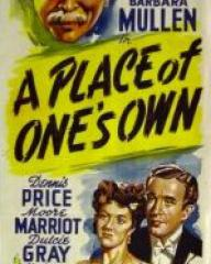 Australian poster for A Place of One's Own (1945) (1)