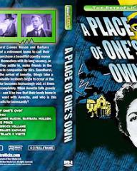 DVD cover of A Place of One's Own (1945) (1)