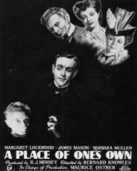 Poster for A Place of One's Own (1945) (2)