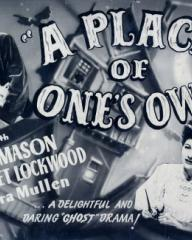 Poster for A Place of One's Own (1945) (3)