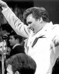Billy Universe (Billy Fury) in a scene from the 1962 film, Play it Cool