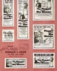 Poster for The Playgirl and the War Minister [The Amorous Prawn] (1962) (1)