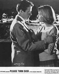 Julia Lockwood (as Jo Halliday) in a photograph from Please Turn Over (1959) (1)