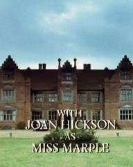 Main title from the 1987 'A Pocket Full of Rye' episode of Agatha Christie's Miss Marple (1984-1992) (4). With Joan Hickson as Miss Marple
