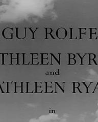 Main title from Prelude to Fame (1950) (3). Guy Rolfe, Kathleen Byron and Kathleen Ryan in