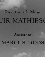 Main title from Prelude to Fame (1950) (8)
