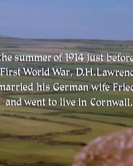 Main title from Priest of Love (1981) (1). In the summer of 1914 just before the First World War, D H Lawrence married his German wife Frieda and went to live in Cornwall