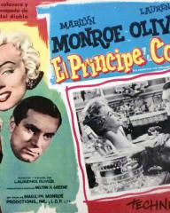 Mexican lobby card from The Prince and the Showgirl (1957) (1)