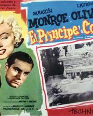 Mexican lobby card from The Prince and the Showgirl (1957) (2)