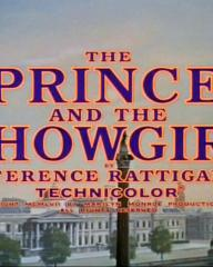 Main title from The Prince and the Showgirl (1957).  By Terence Rattigan.  Technicolor.  Copyright 1957 by Marilyn Monroe Productions Inc.  All rights reserved