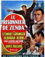 Belgian poster for The Prisoner of Zenda (1952) (1)