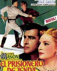 Mexican poster for The Prisoner of Zenda (1952) (1)