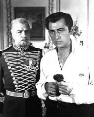 Stewart Granger (as Rudolf Rassendyll / King Rudolf V) in a photograph from The Prisoner of Zenda (1952) (1)
