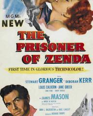 Poster for The Prisoner of Zenda (1952) (1)