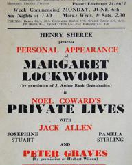 Poster for Private Lives (1949) (1)