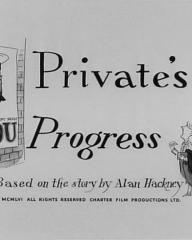 Main title from Private's Progress (1956)