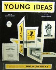 Young Ideas – sheet music from the King and Mrs Candle (1955), Producers' Showcase (1954-57)