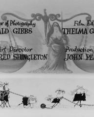 Main title from The Pure Hell of St. Trinian's (1960) (10)