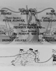 Main title from The Pure Hell of St. Trinian's (1960) (11)
