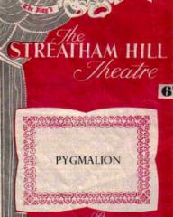 Programme from Pygmalion (1951) at the Streatham Hill Theatre, London (1)