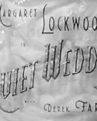 Main title from Quiet Wedding (1941)