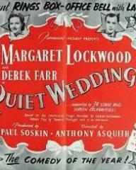Poster for Quiet Wedding (1941) (1)