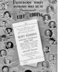 Poster for Quiet Wedding (1941) (2)